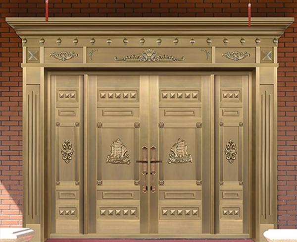 内蒙古铜门