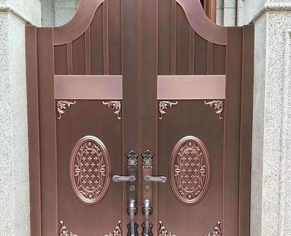 如何制作一款精致大气的内蒙古铜门