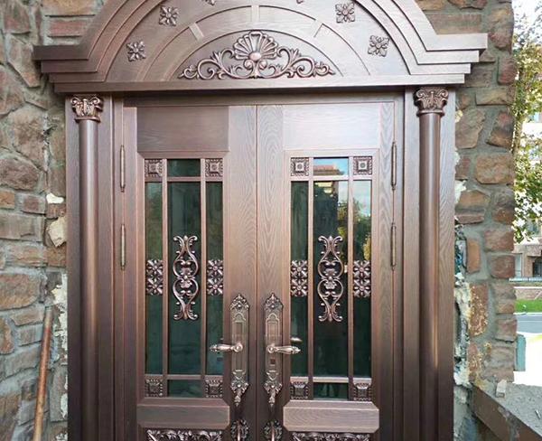 真内蒙古铜门和仿铜门,你知道怎么分辨吗?