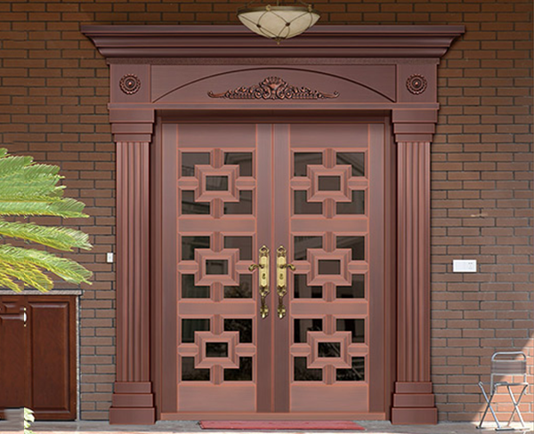 正确的内蒙古铜门安装方法