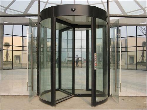 内蒙古旋转门中自动旋转门和手动旋转门有什么区别?
