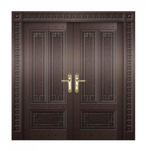 在使用铜门时应该怎么保养?