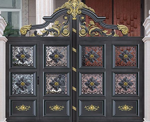 DM-9005铝艺庭院门