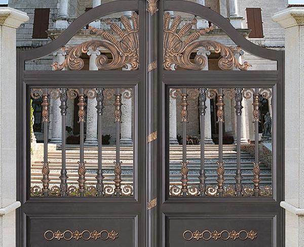 内蒙古铝艺庭院门