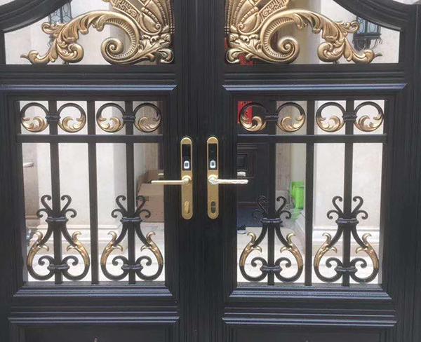 铝艺庭院门